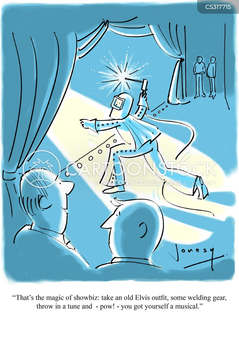 stage show cartoon