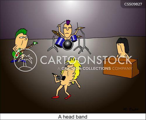 head bands cartoon