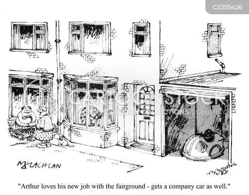dodgems cartoon