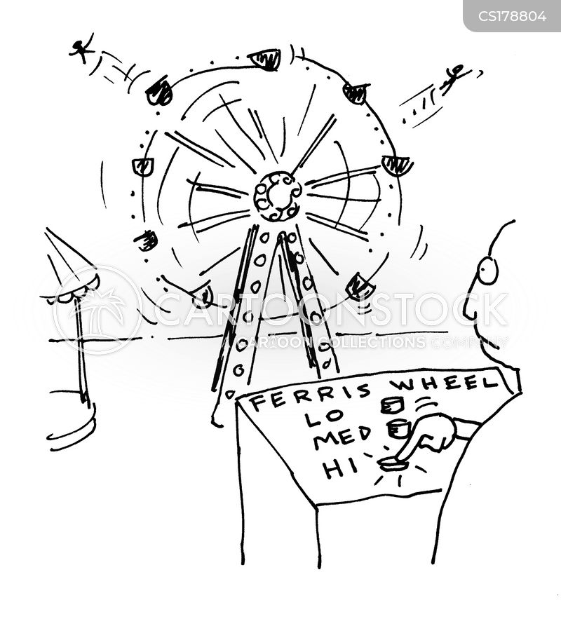 circus worker cartoon