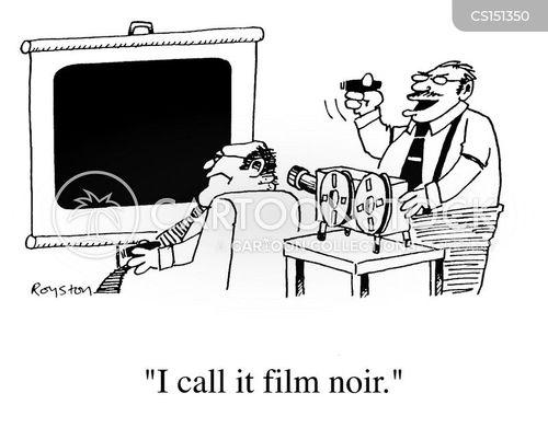 film noir cartoon