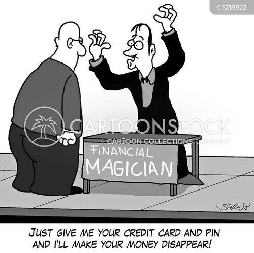 financial magicians cartoon