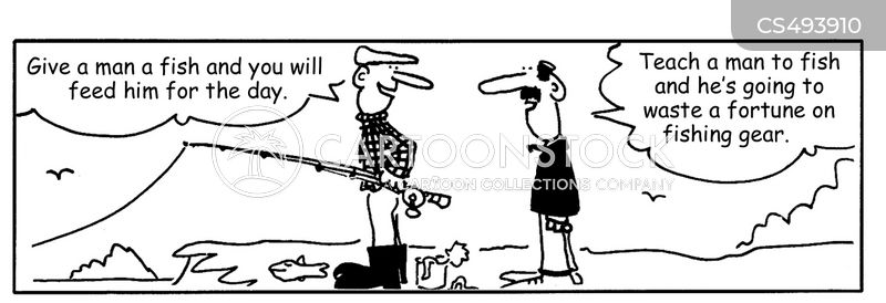 fishing shops cartoon