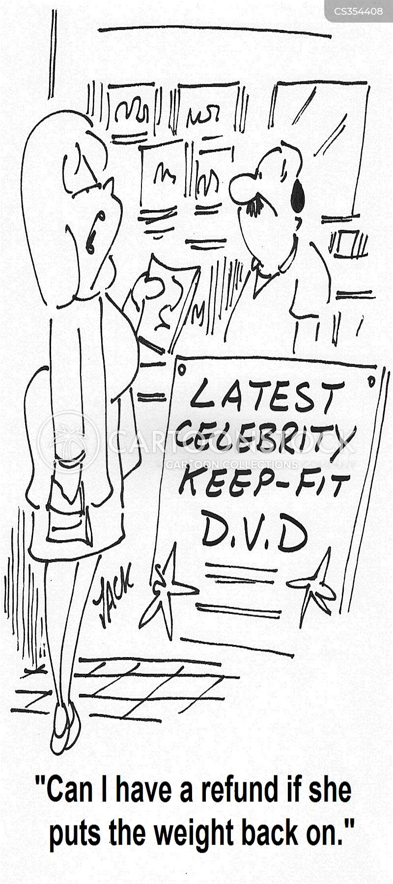 exercise dvds cartoon