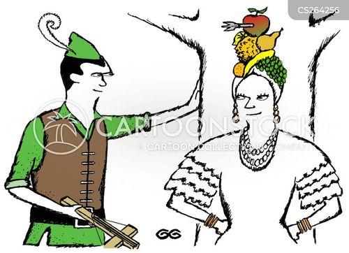 carmen miranda cartoon