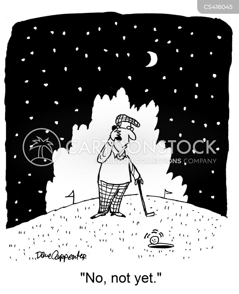 putter cartoon