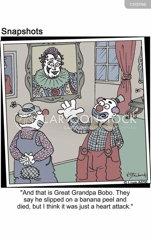 lineage cartoons and comics