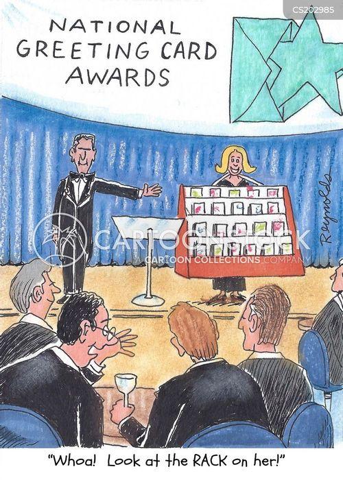 award ceremony cartoon