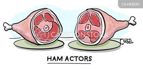 amateur dramatics cartoon