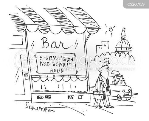 bad economy cartoon