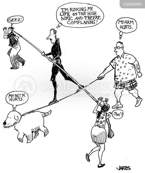 funambulism cartoon