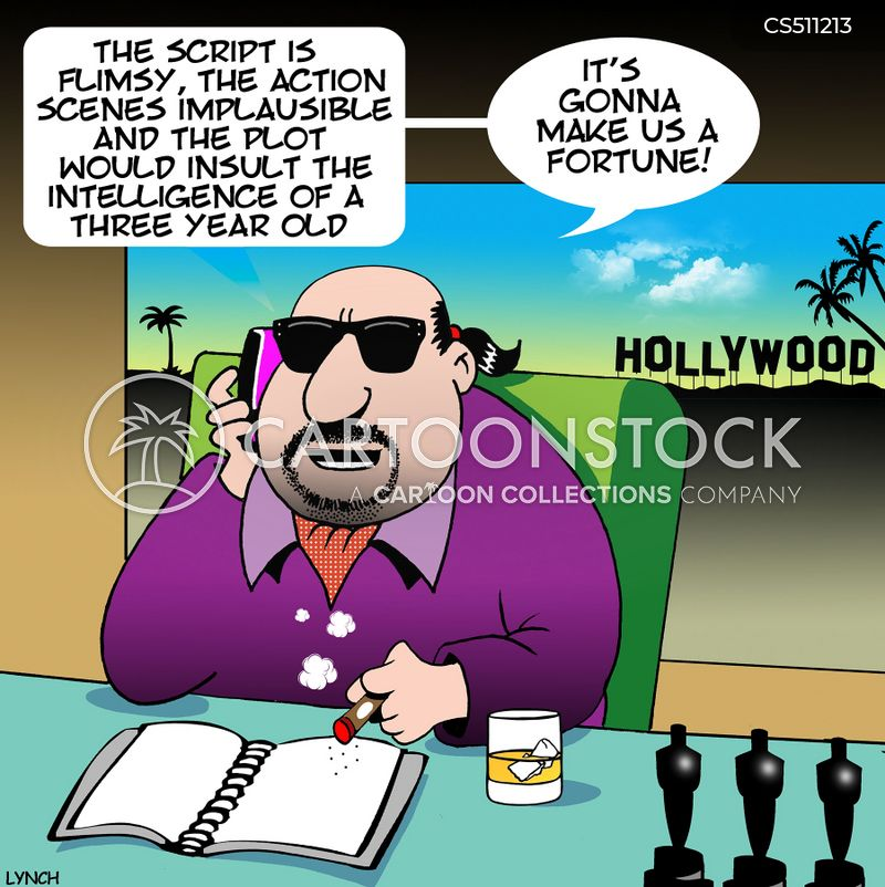 film scripts cartoon
