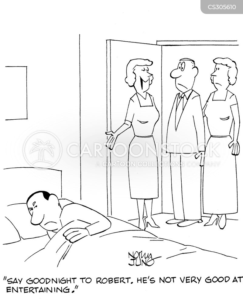 good night cartoon
