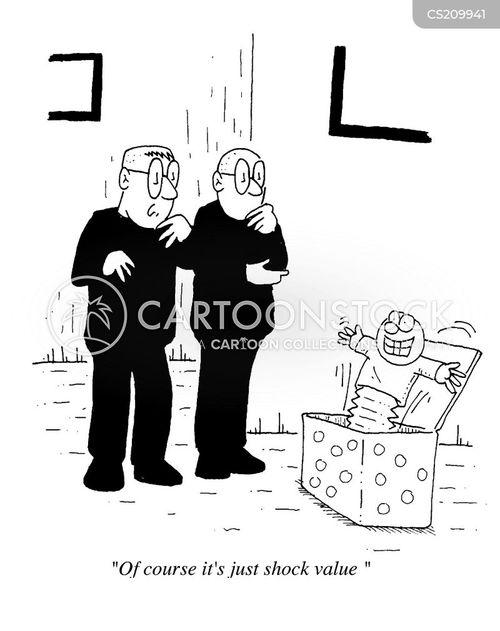 shock value cartoon