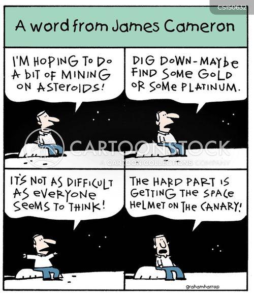 james cameron cartoon