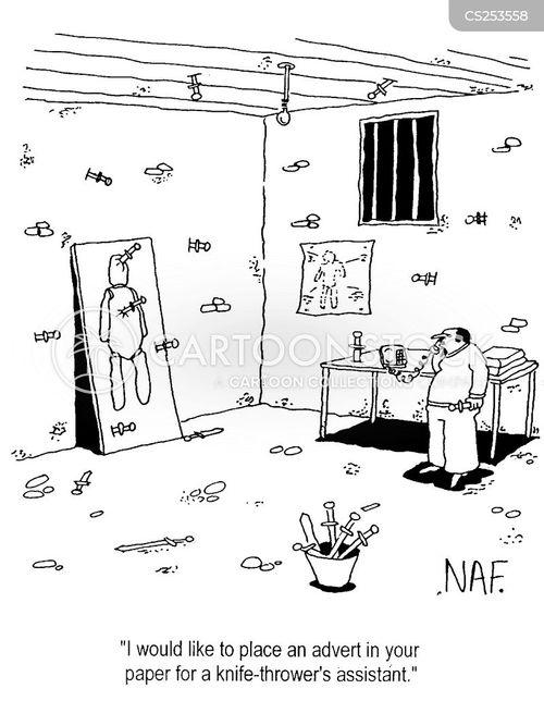 classifieds cartoon