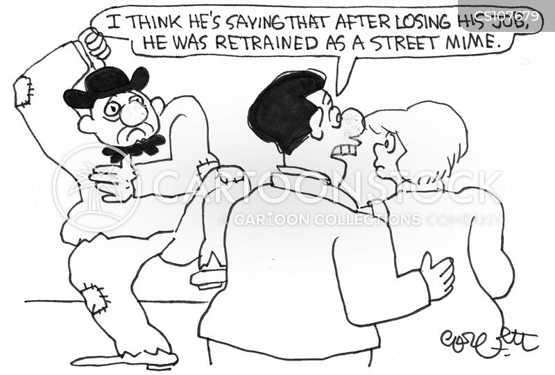 job training cartoon