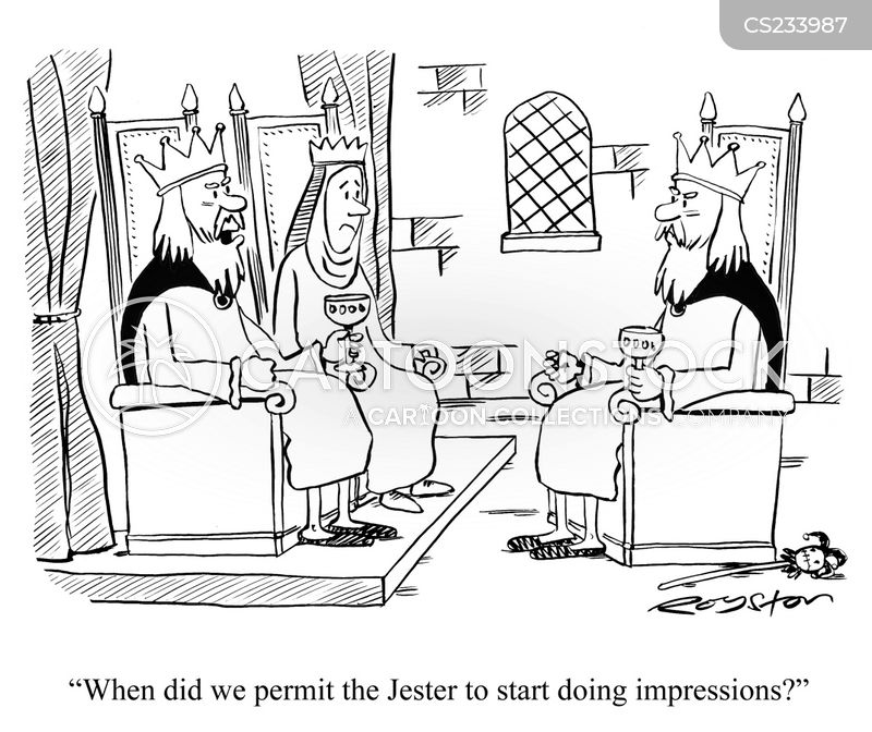 mediaeval cartoon