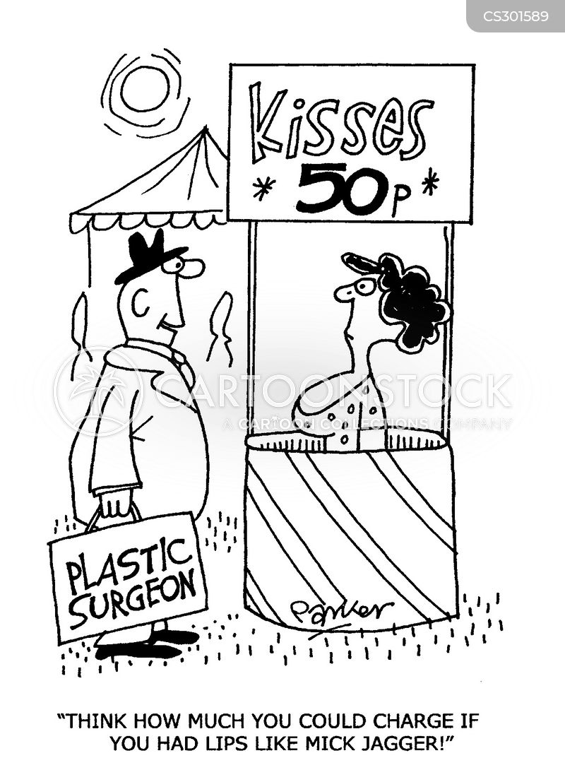 kissing booth cartoon