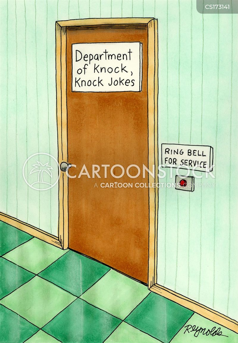 doorbell cartoon
