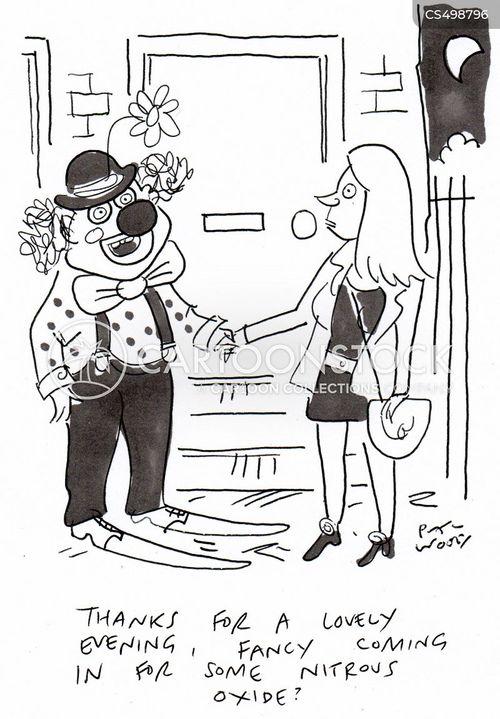 laughing gas cartoon