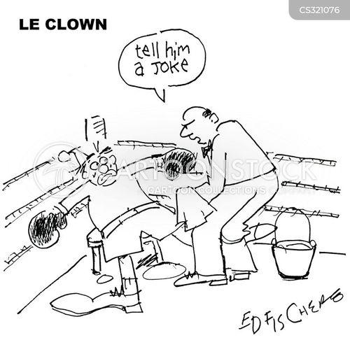 le clown cartoon