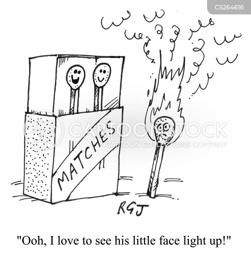 face light up cartoon