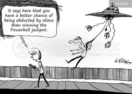 lottery winners cartoon