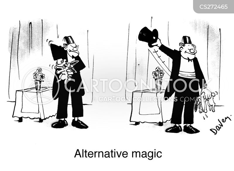magic circle cartoon