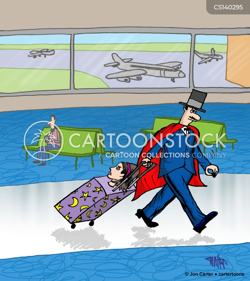 magicians assistant cartoon