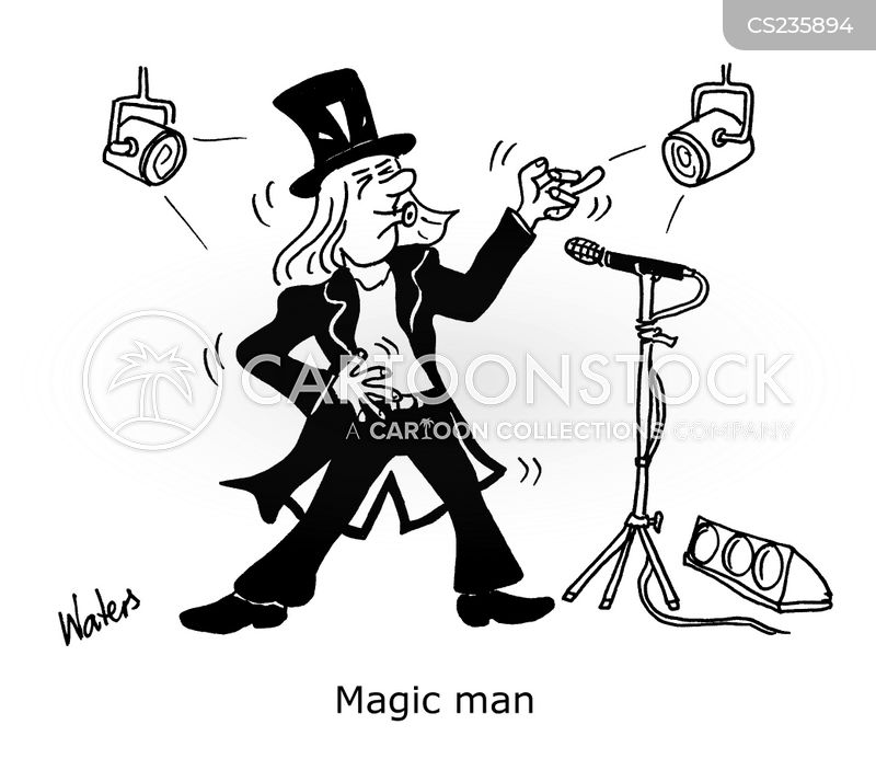 magic men cartoon