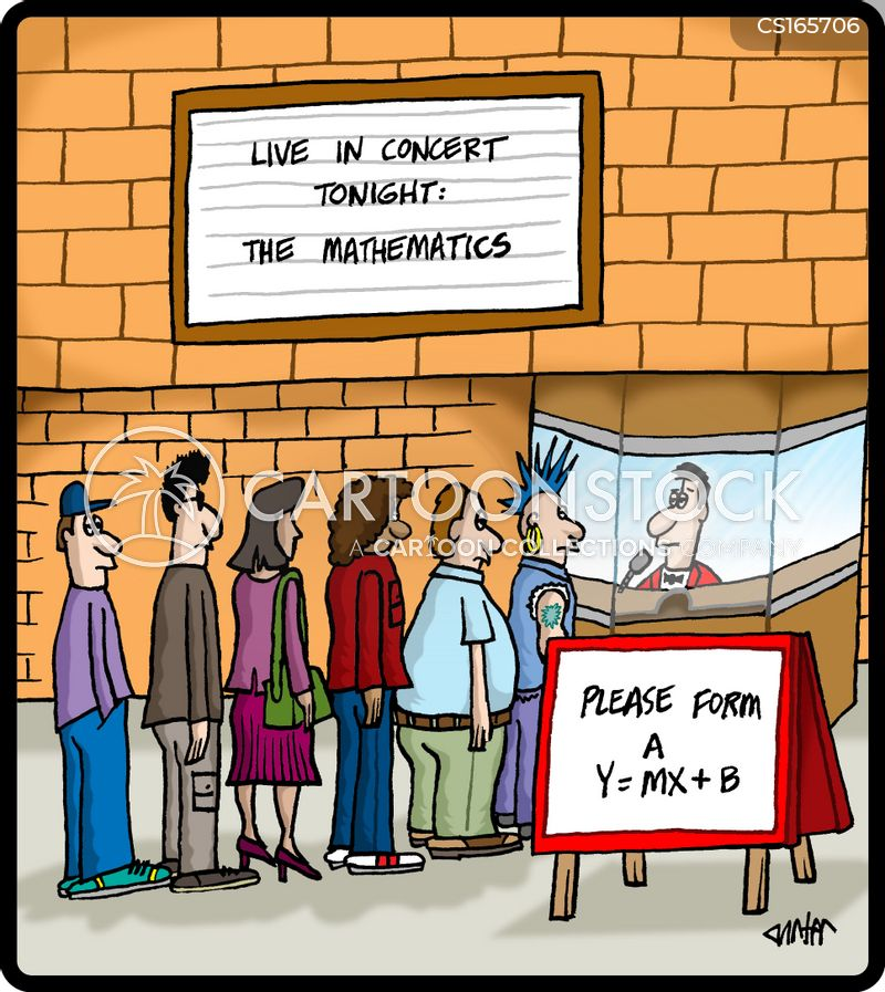 Maths Cartoons and Comics - funny pictures from CartoonStock