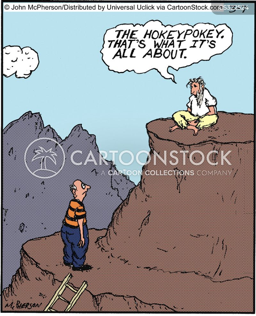 Hokey Pokey Cartoons And Comics Funny Pictures From Cartoonstock
