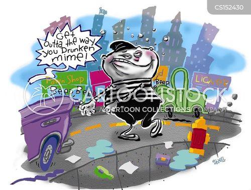 booze hound cartoon