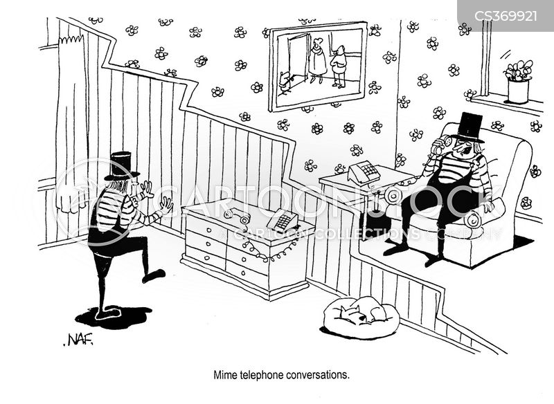 Phone Conversation Cartoons and Comics - funny pictures from