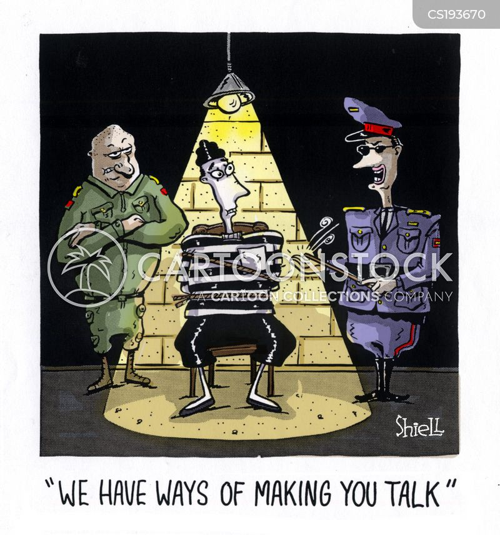 captive cartoon