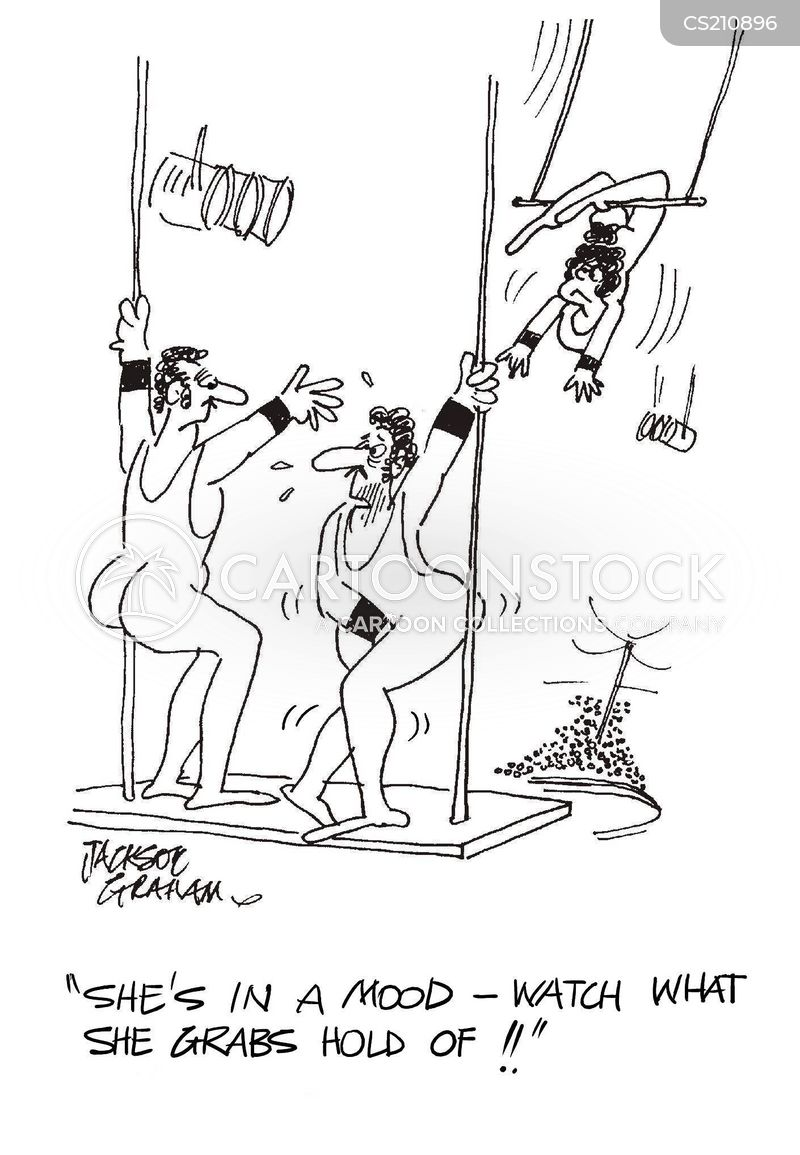 Leotard Cartoons And Comics Funny Pictures From Cartoonstock