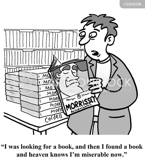 celebrity books cartoon