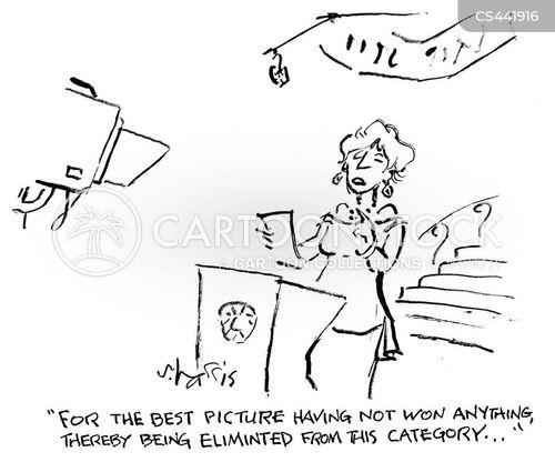 movie award cartoon