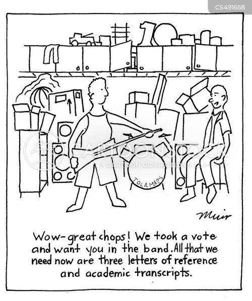 band mates cartoon
