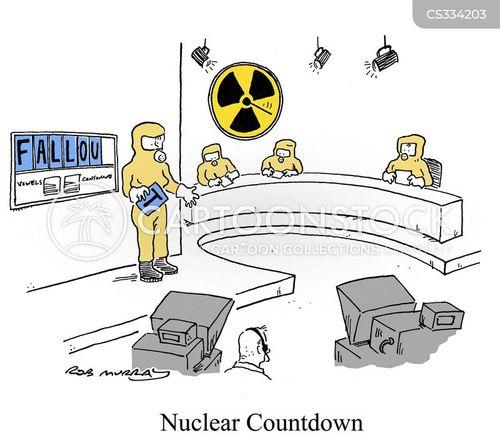 radiation suit cartoon