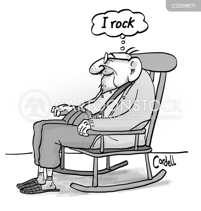 Rocking Chair Cartoons And Comics Funny Pictures From Cartoonstock
