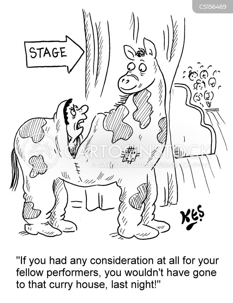 panto cartoon
