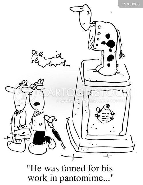 pantomime cow cartoon