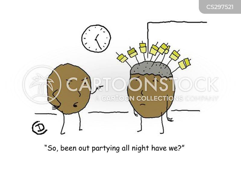 out all night cartoon