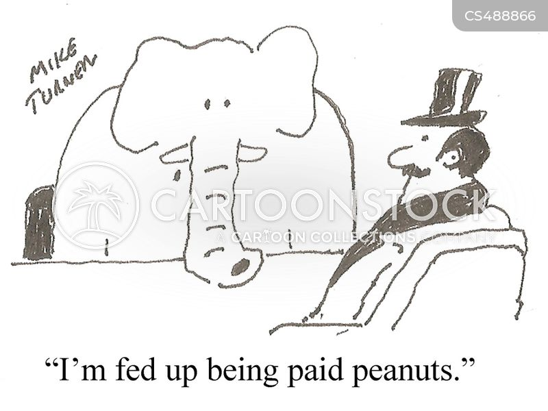 pay disputes cartoon