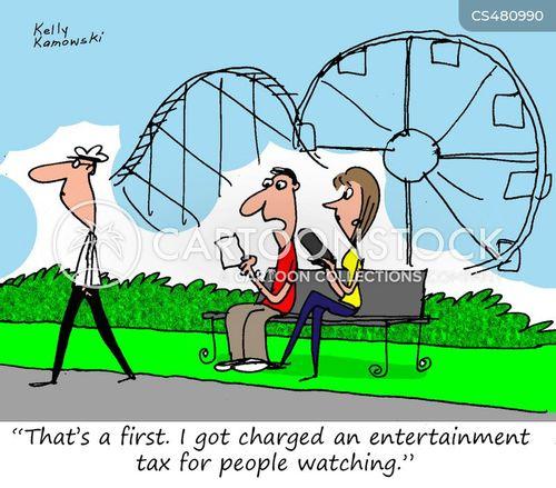people watchers cartoon