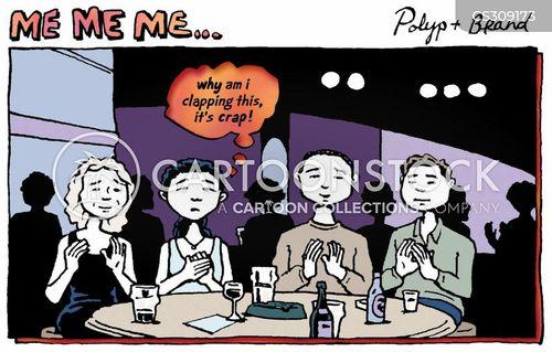 audience participation cartoon