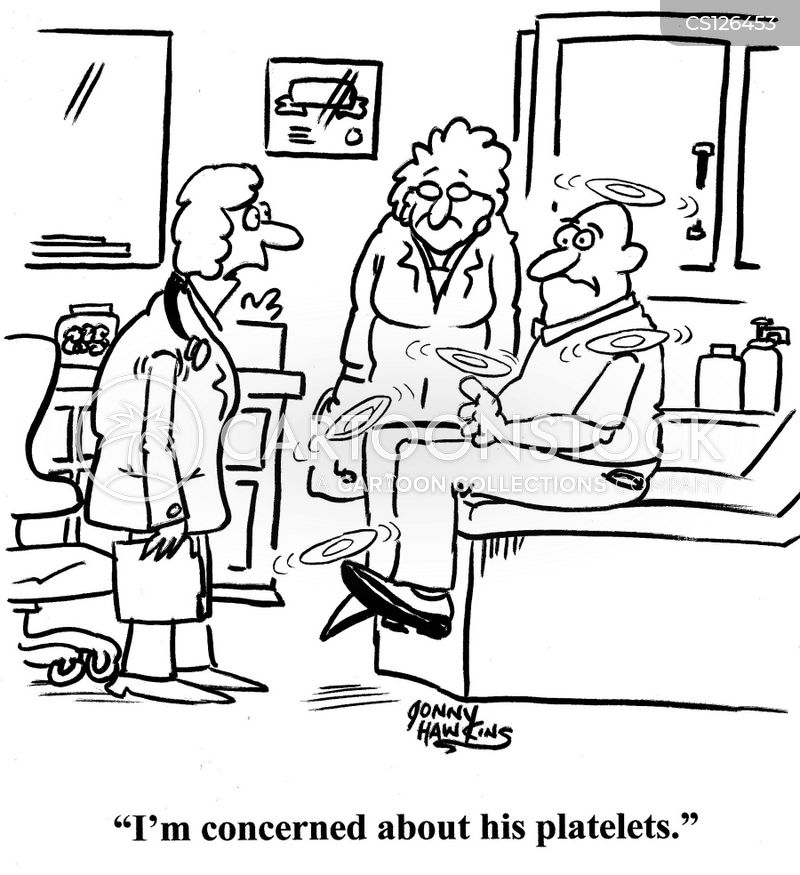 blood disorders cartoon