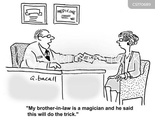 medical treatment cartoon